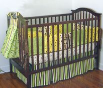 Baby Patterns - Kwik Sew Crib Comforter, Skirt, Fitted Sheet, Bumper Pad & Diaper Stacker Pattern
