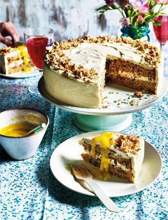 Bruno Loubet's parsnip and white chocolate cake recipe is jam-packed with parsnips but you'd never know it!