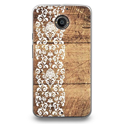 Hard Plastic Case For Moto CasesByLorraine Vintage Floral Flower Lace  Pattern PC Case Plastic Cover For Motorola Moto X Generation