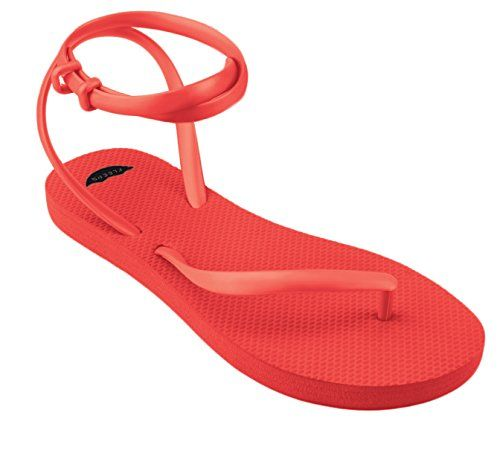 FLEEPS Women's Ruby Red Sandals 7 ** Click image to review more details.