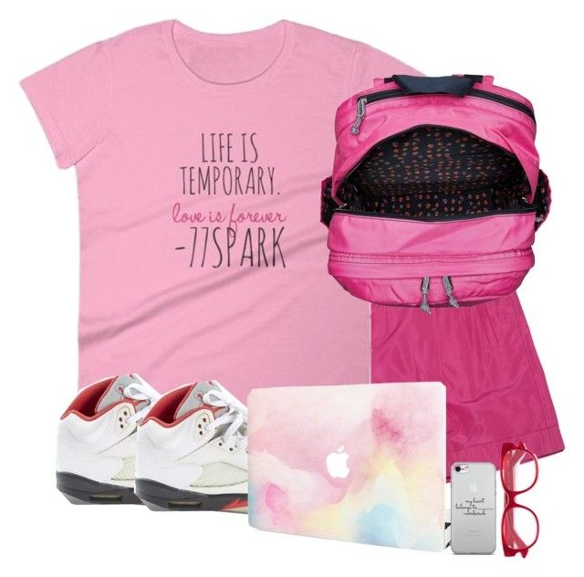 """""""Beverly Hills High School"""" by purplicious ❤ liked on Polyvore featuring Ralph Lauren Collection, Jordan Brand, Vera Bradley and Gucci"""