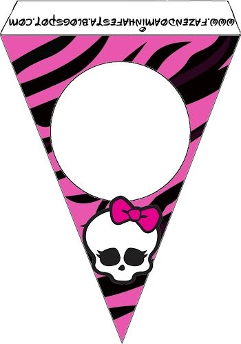 Monster High: Party Free Printables.