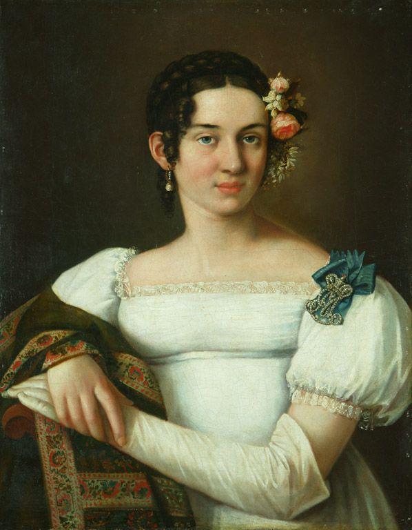 1820 Countess Maria Musina Pushkina, née Princess Urusova