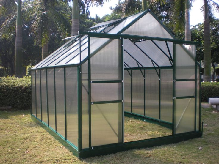Small Greenhouse | Image : Small Size 6mm UV Twin-wall Polycarbonate Sheet Greenhouse ...