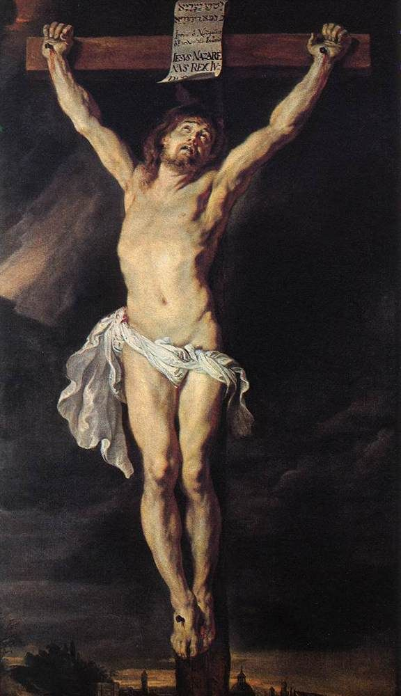 Peter Paul Rubens.  God died for me. I will try and honor Him