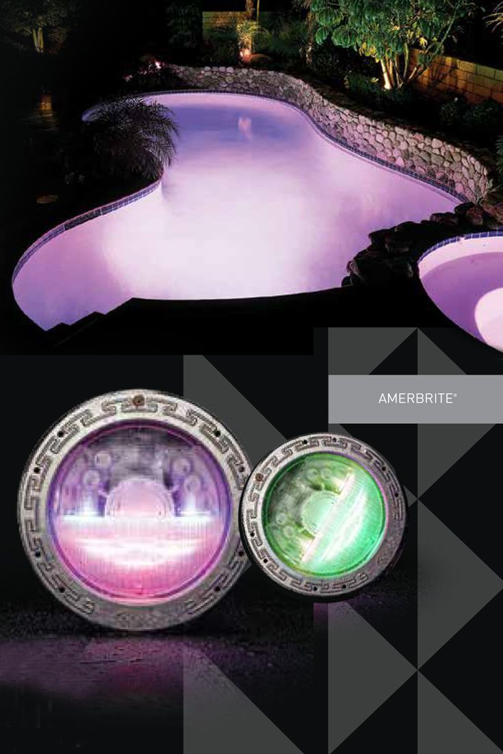turn your pool into a 20 000 gallon mood ring with pentair ameribrite led inground
