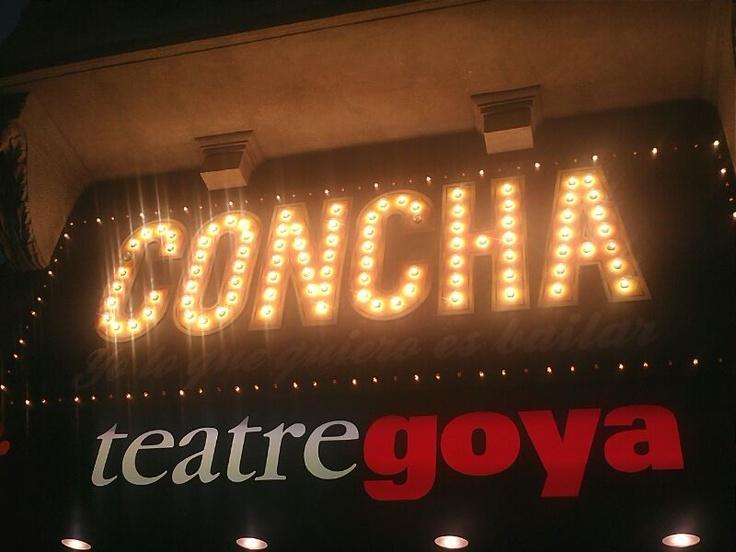 Concha, yo lo que quiero es bailar -teatre goya-