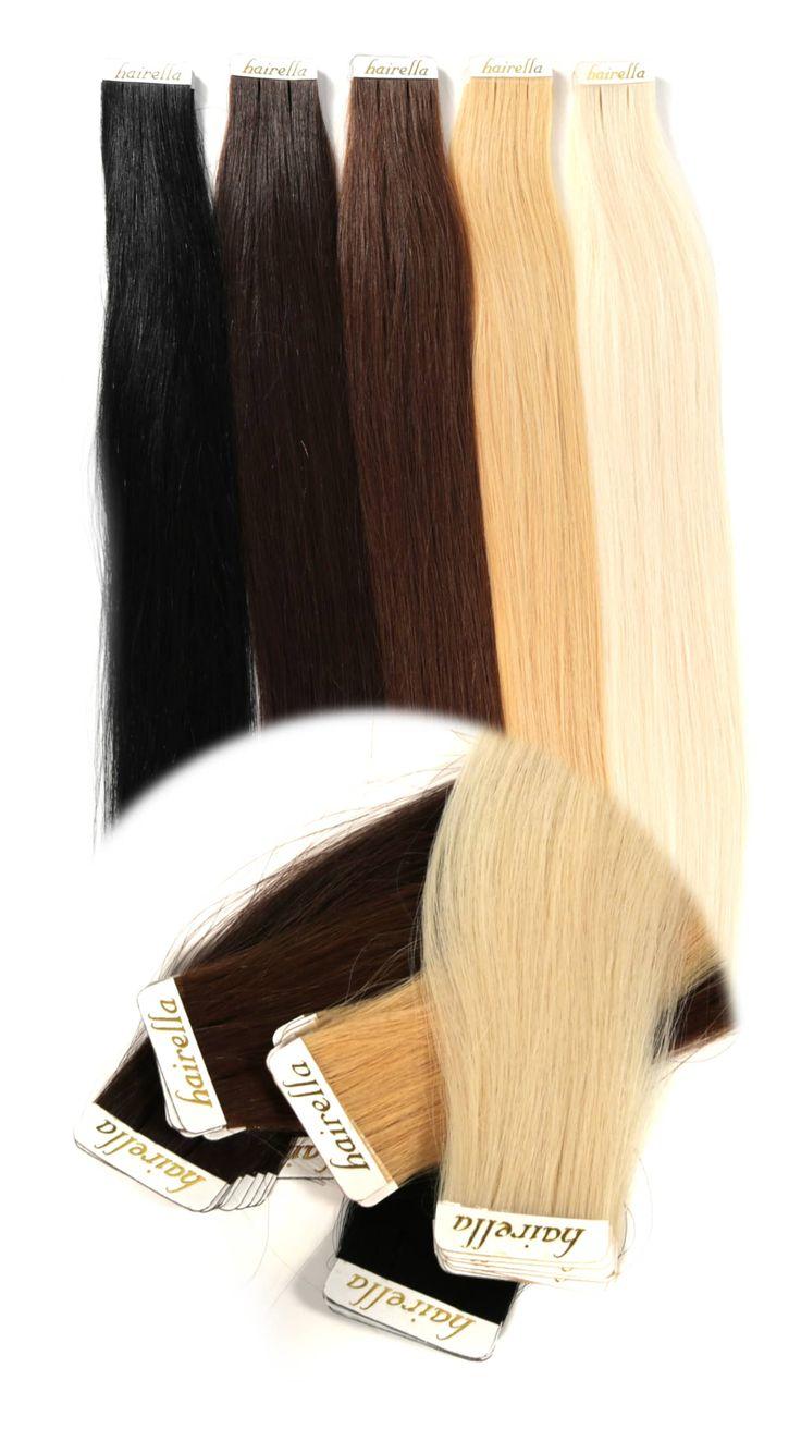 Tape In Extensions - europäisches Echthaar Haarverlängerung