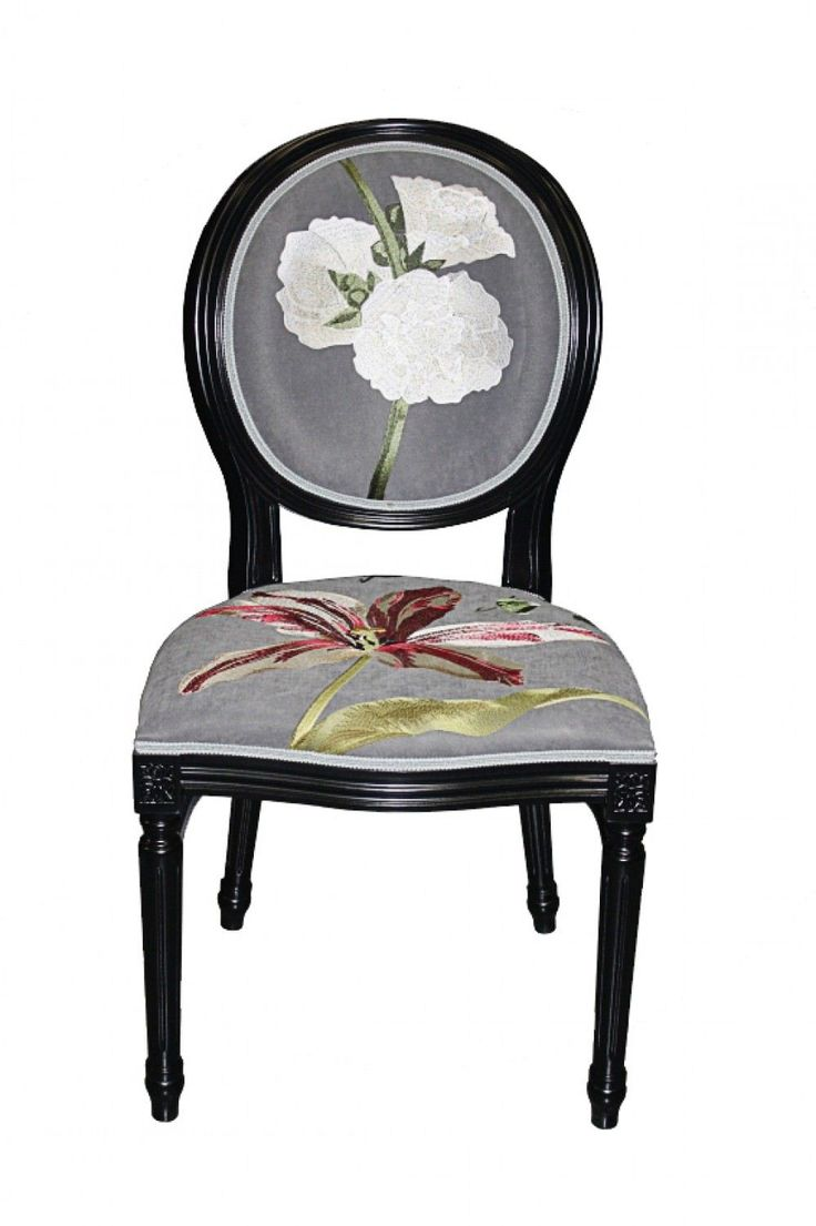 Embroidered Chair by Tatiana Parfionova