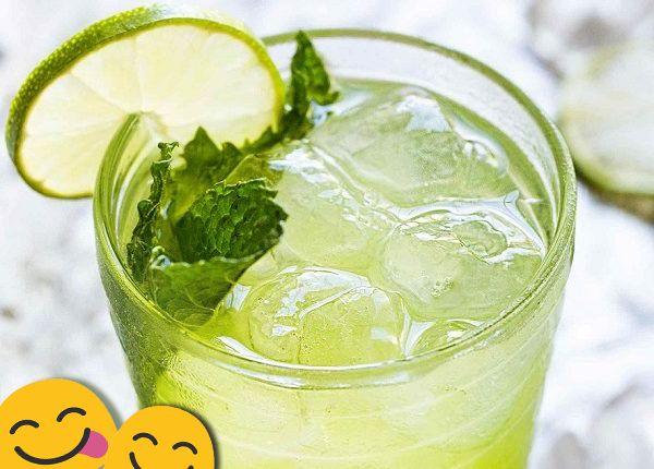 طريقة تحضير عصير الليمون بالنعناع Cucumber Food Condiments