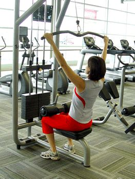 Today's Exercise: Traditional Lat Pulldown Machine