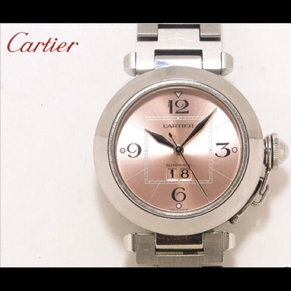 Cartier Jewelry - Cartier pasha watch stainless steel