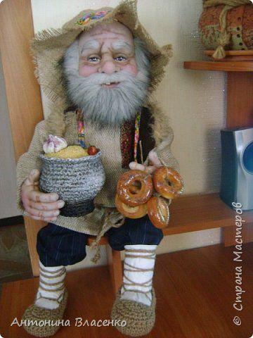 Куклы Шитьё Домовой Капрон фото 2