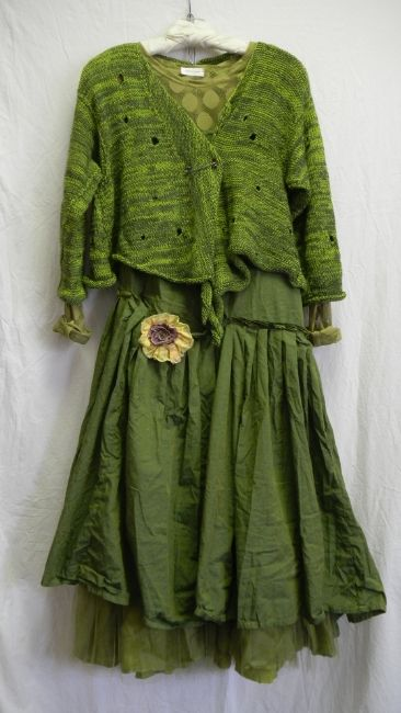 The color is amazing and it's not too frilly; I could actually wear that!.  by krista larson