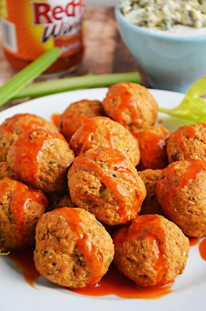 ... goodies bowl spread things buffalo buffalo chicken meatballs forward