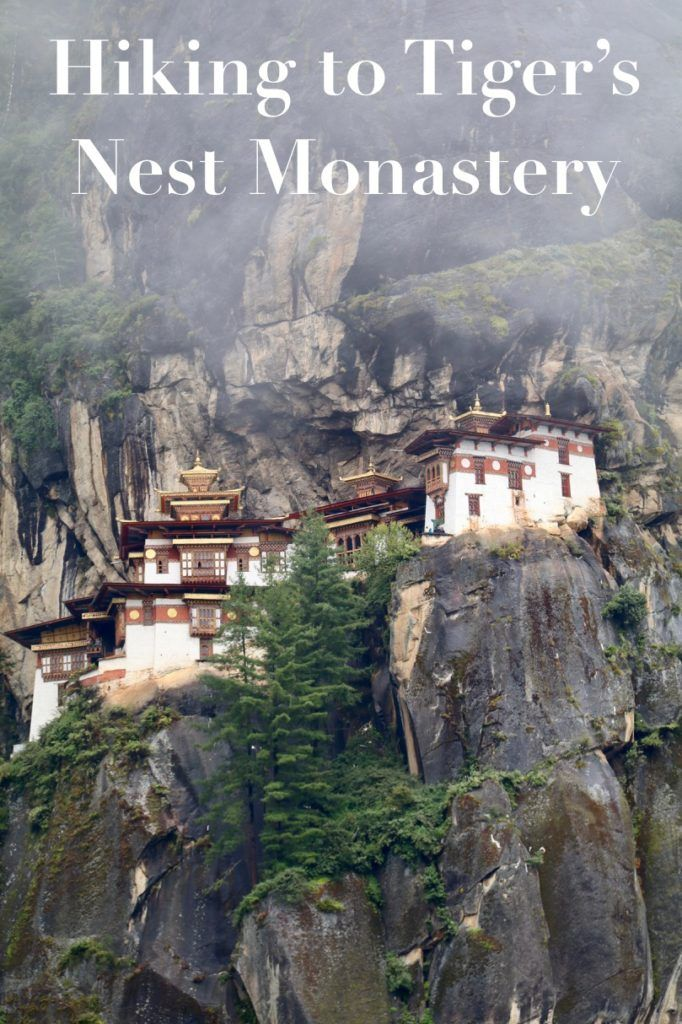 Hiking to Tiger's Nest Monastery