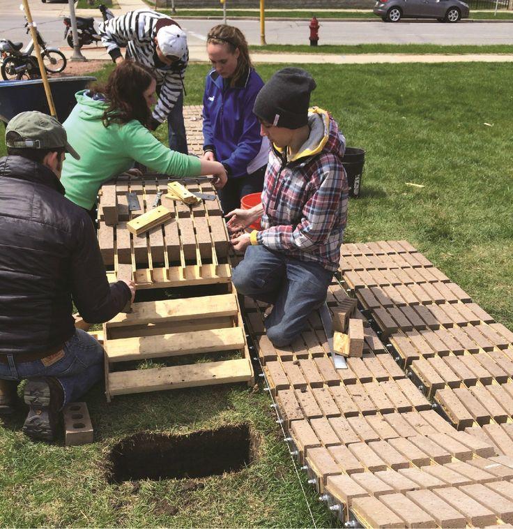 faBRICK Construction Process, Courtesy of University of Wisconsin-Milwaukee