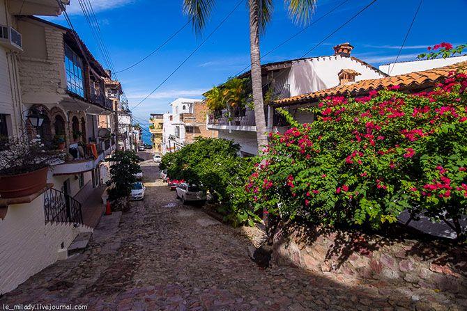 Прогулка по мексиканскому Пуэрто-Вальярта