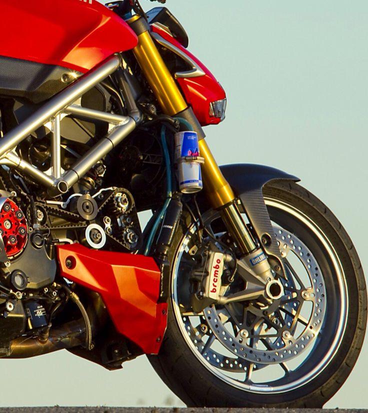 Ducati streetfighter build