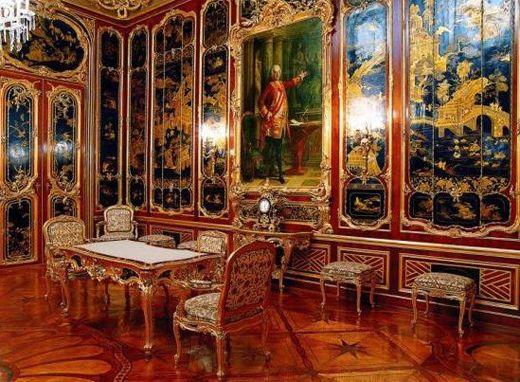 Antecámara de Carlos III colección de relojes palacio real madrid - Buscar con Google