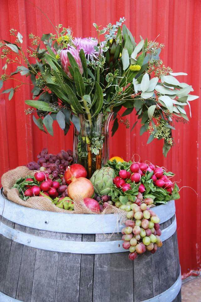 24 Best Images About Fruits And Flower Arrangement On
