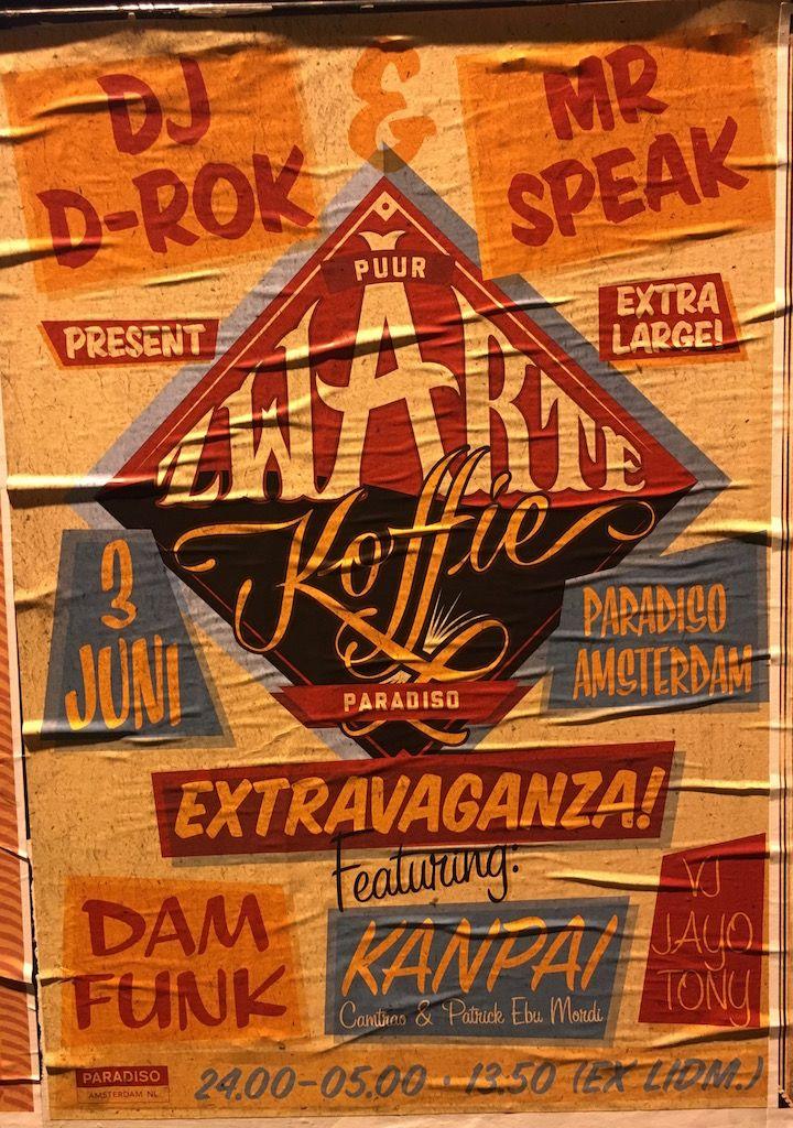 Friday night, going out in Amsterdam. Zwarte Koffie club night featuring DāM-FunK. #funk #dancing #hiphop #paradiso #amsterdam #fun http://www.susannealt.com/weblog/