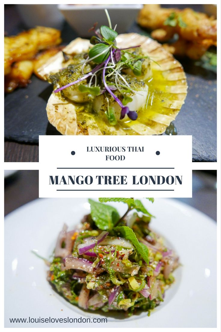 All about my visit to the luxurious Thai restaurant Mango Tree in Belgravia/ London