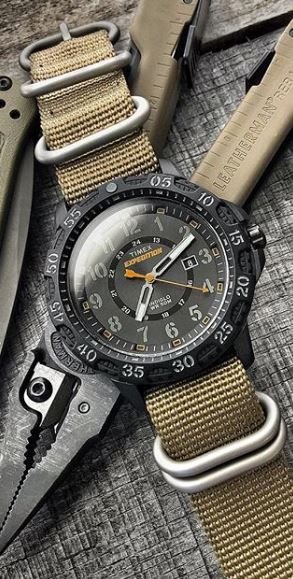 948b94bddbee Timex Men s Watch Expedition Gallatin Lightweight   Rugged Resin Wrist