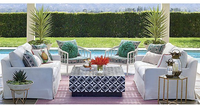 Patio Furniture Sets Frontgate With Images Patio Furniture