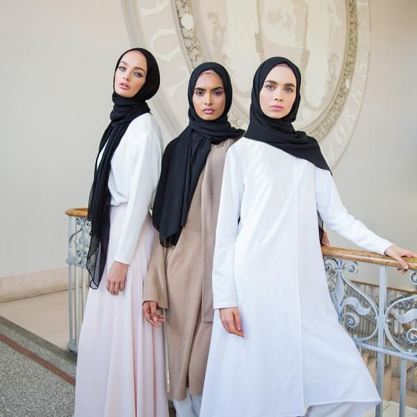 Check out our collection georgette hijabs http://www.lissomecollection.co.uk/Georgette-hijab-black