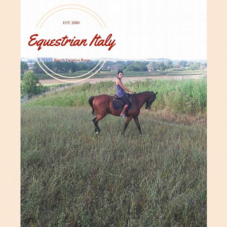 Trekking a Cavallo nella campagna di Roma per un incontro avventuroso ed emozionante con un  amico speciale, per camminare nella natura con un maestro unico, esperto e divertente! www:equestrianitaly.com