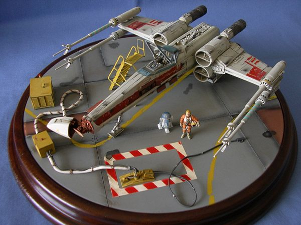 Maquettes Star Wars Colletion/Maquette Star Wars Officiel De la Saga