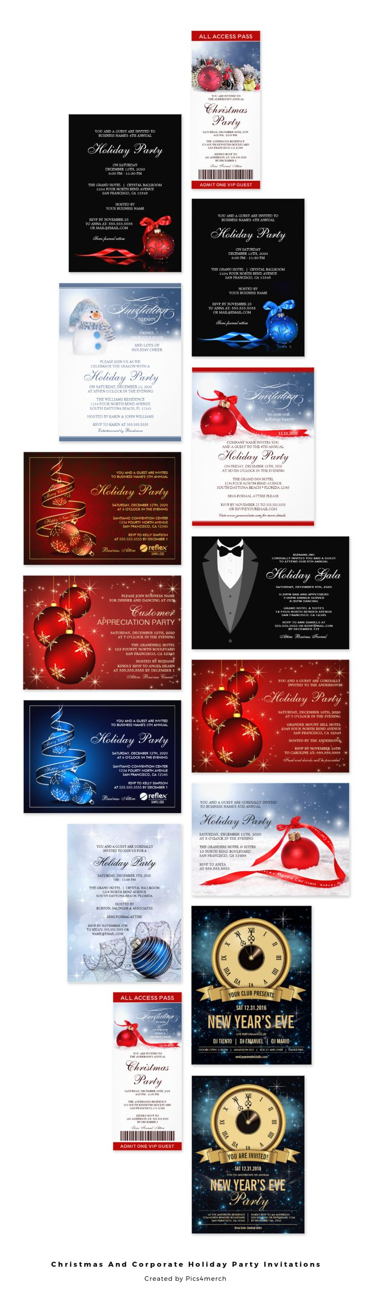 17 best images about christmas and holiday party invitations on enjoy browsing our best christmas invitation templates including holiday party ticket invitations business holiday