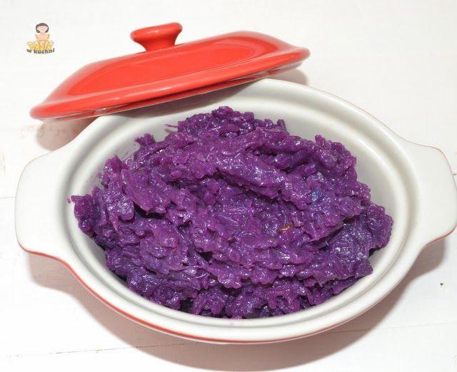 Basia w kuchni: Kapusta czerwona zasmażana prosto i wytrawnie.