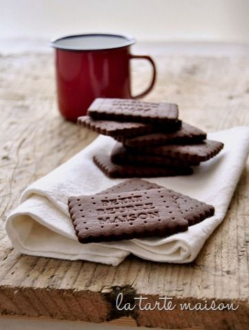 petits beurre cacao La tarte maison