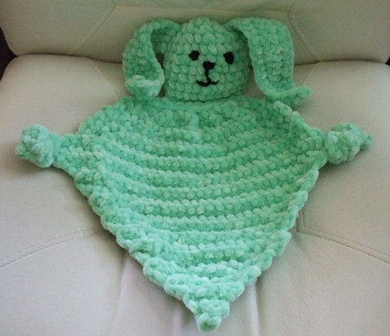 Bunny Blanket Buddy Knit Pattern : The 89 best images about Knit baby blanket Buddy on Pinterest Knit patterns...