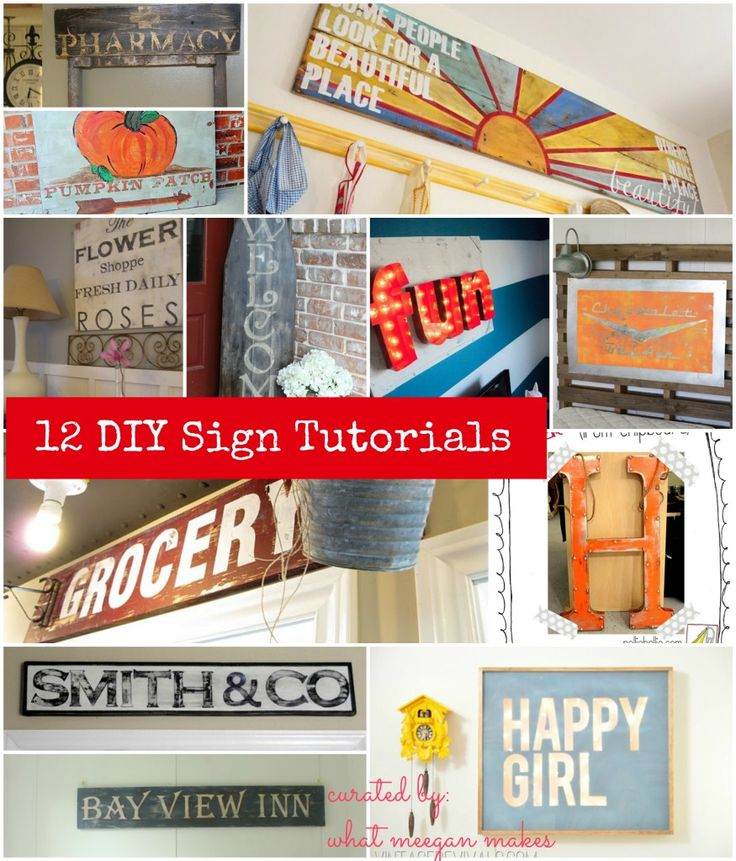 I've Got The Monday Blues for 12 Homemade Signs