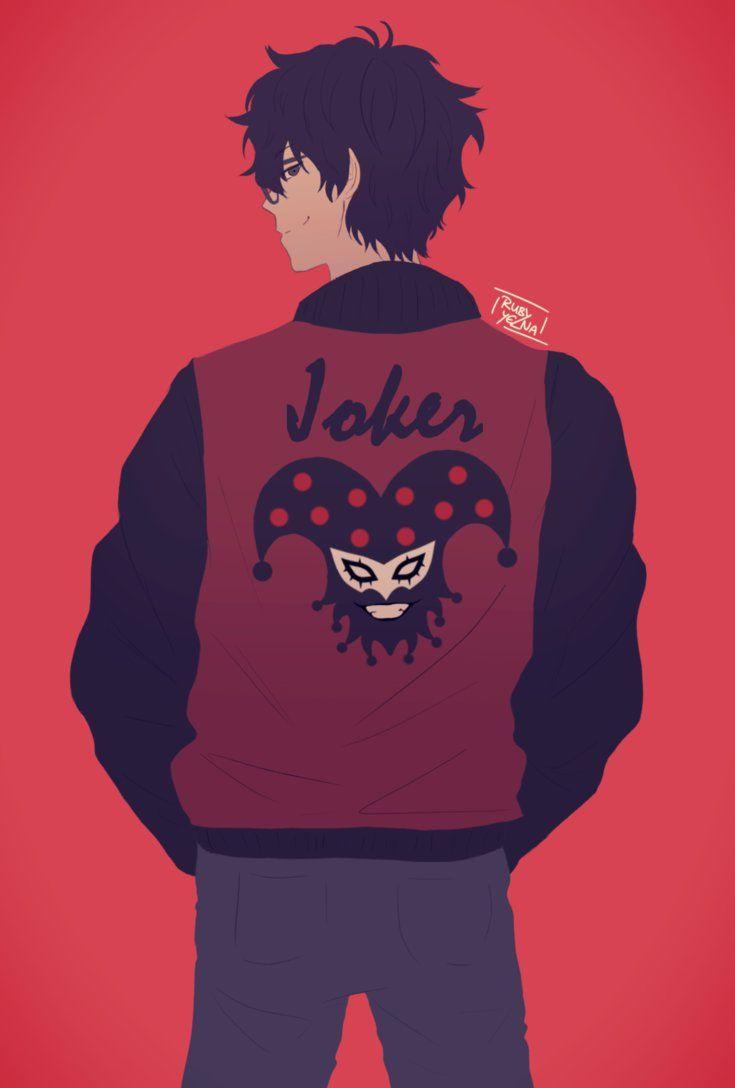 Joker Jacket by RubyYelna