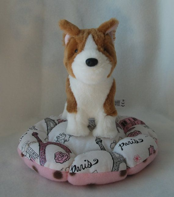 Bed for pets fits American girls doll pets and by ValyPetsBoutique