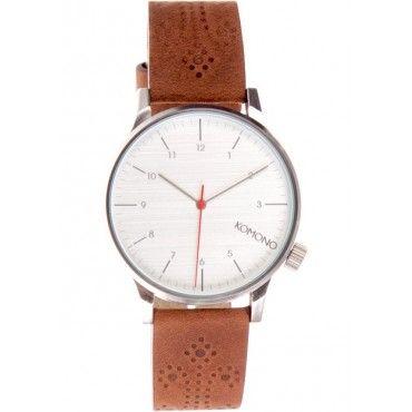 New from Komono! Winston Brogue Analogue Men's Watch now available online @ www.murdok.com  $114.95
