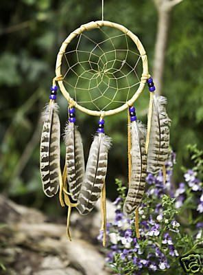 Large Handmade Apache Dream Catcher by LozensArt on Etsy