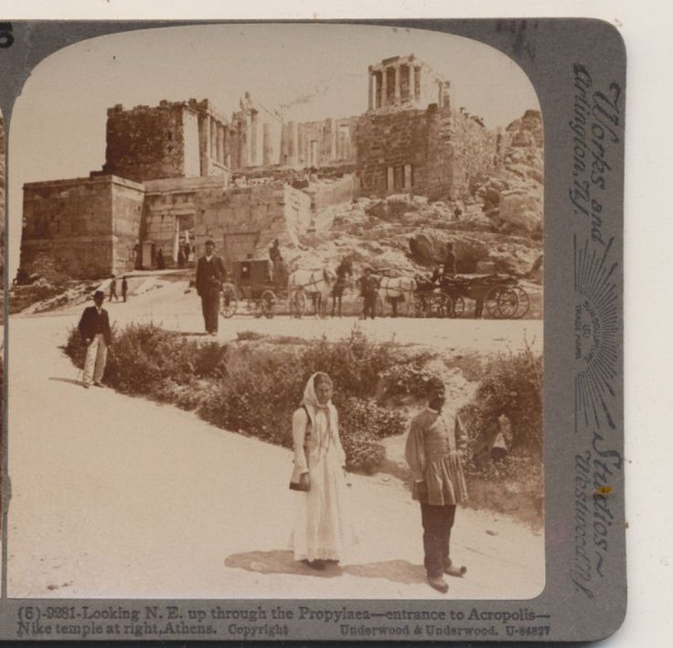 Mouse over image to zoom Carriages-entrance-to-Acropolis-Athens-Greece-Underwood-Stereoview-1907  Carriages-entrance-to-Acropolis-Athens-Greece-Underwood-Stereoview-1907 Have one to sell? Sell it yourself Carriages entrance to Acropolis Athens Greece,1907