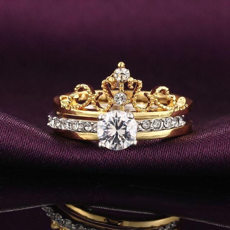 Luxury Crown Ring
