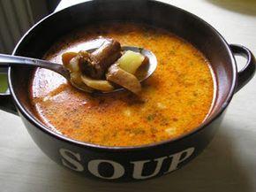 Zsuzsa ízutazásai.: Tejszínes rókagomba leves.