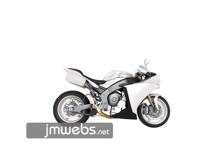 Rotulación de Motos con vinilo de corte y/o de impresión a todo color. Precios en www.jmwebs.net o Teléfono 935160047