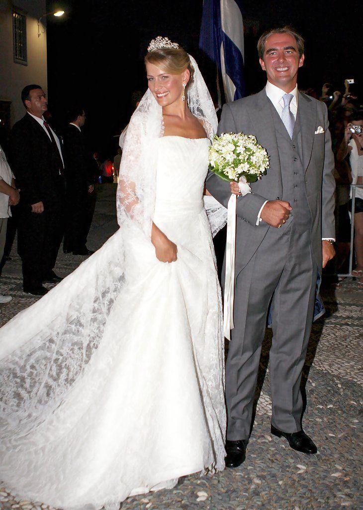 Tatiana Blatnik - A very royal wedding for Prince Nikolaos
