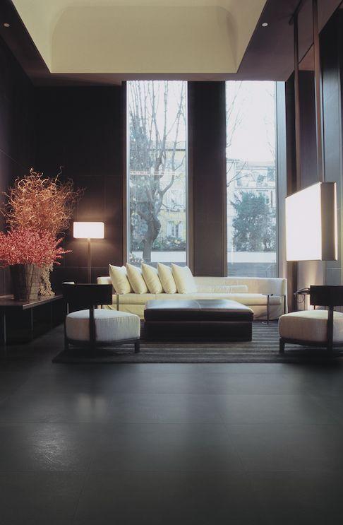 Linea Granitoker, serie Loft #CasalgrandePadana #architecture #design #interiordesign #ceramics