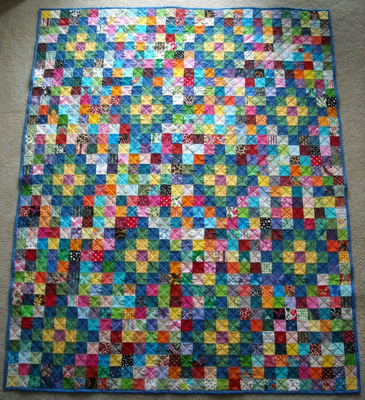 166 best Scrap quilts images on Pinterest