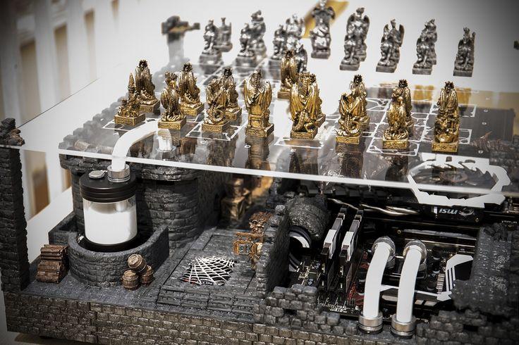 Medieval chess scene P5 Casemod by DeKa modder – Página 7 de 7 – DeKa Modder