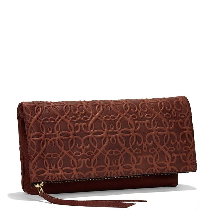 VIDA Leather Statement Clutch - Muse by VIDA sxVfdVk